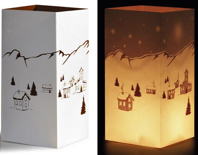 Zauberlicht, 3er-Set, Wintermotive