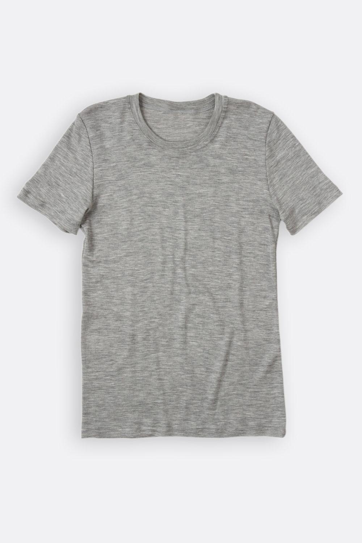 Herren Shirt, Wolle / Seide