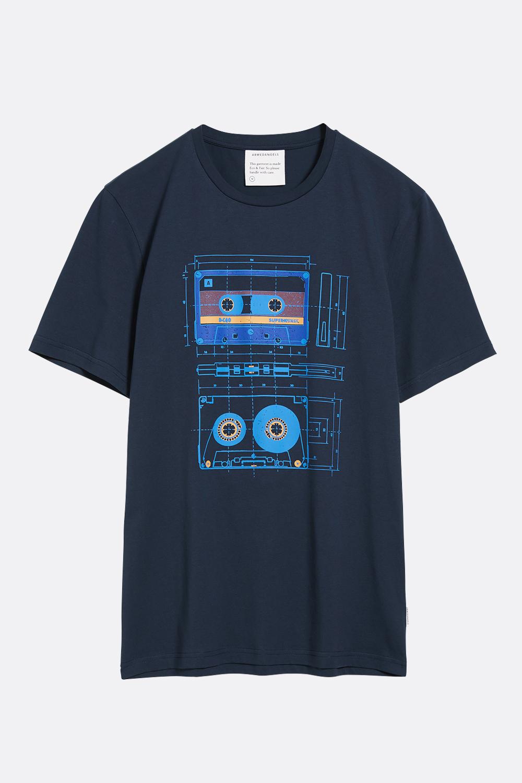 Herren T-Shirt Cassettes