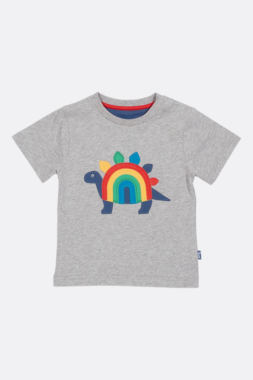 Shirt Regenbogen-Saurier