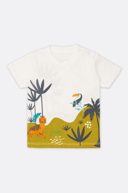 Flammé-Shirt Dschungel