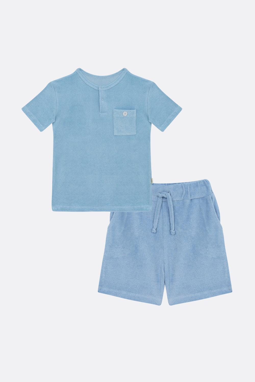 Frottee Sommerschlafanzug