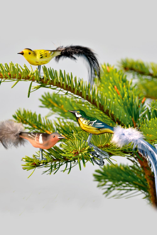 Mini-Vögel 3er-Set