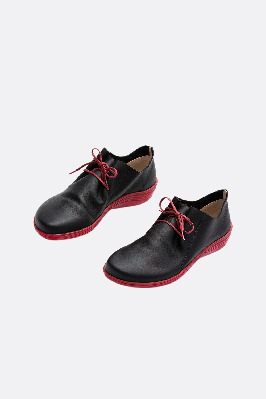 Barfuß Leder-Sneaker