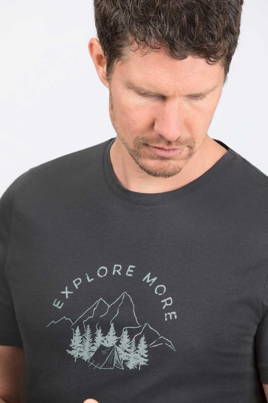 Herren T-Shirt Explore More