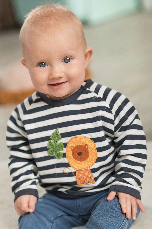 Baby Ringelsweater Löwe
