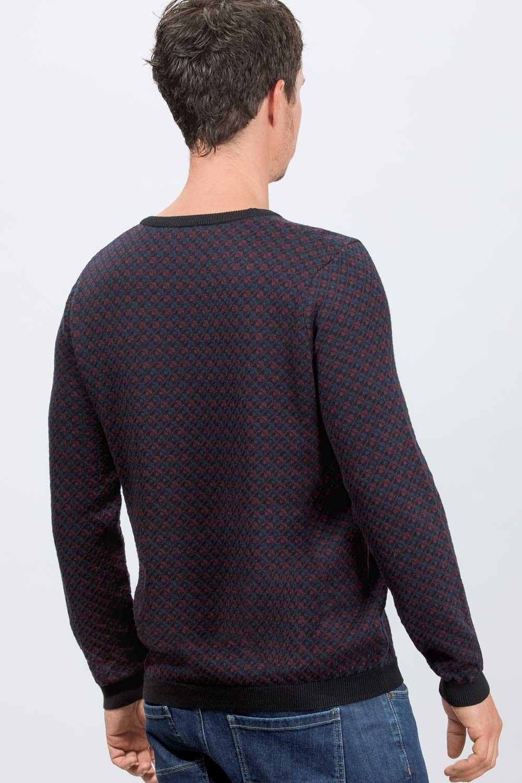Herren Karo-Pullover
