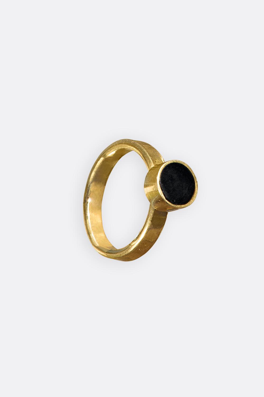 Messing/Horn-Ring