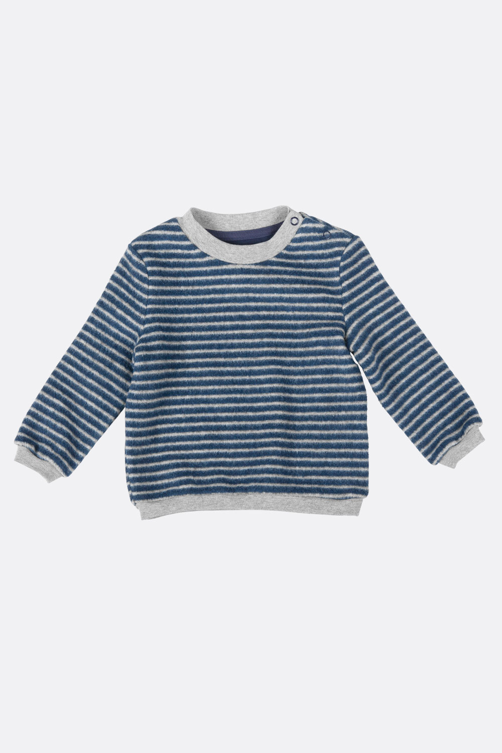Baumwoll-Fleece Sweater