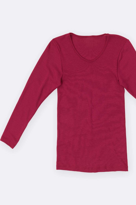 Merino-Seiden 1/1-Arm Hemd