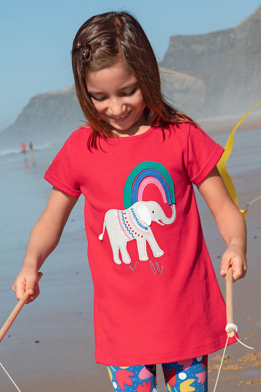 Shirt Regenbogen-Elefant