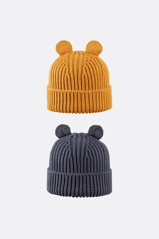Wolle/Seide/Baumwolle Ohrenmütze