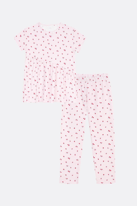 Sommer-Pyjama Kirschen