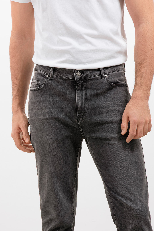 Herren Black Denim Jeans