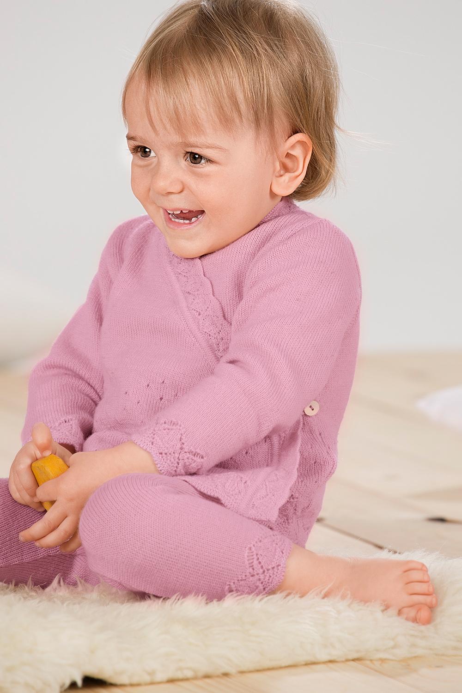 Baby Ajour Strickhose