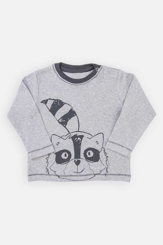 Langarm-Shirt Waschbär