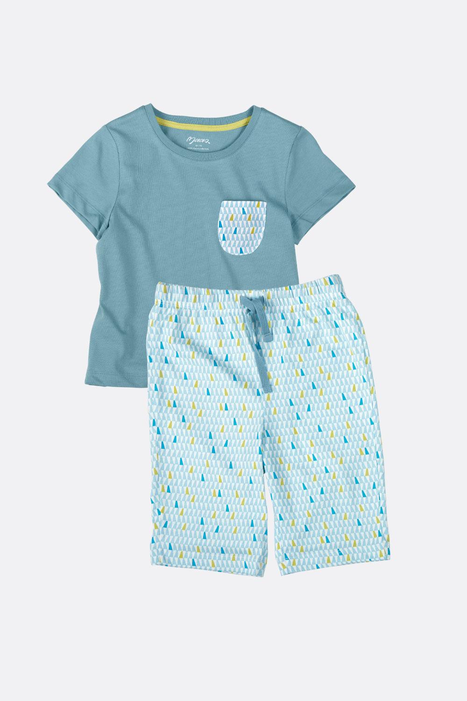 Sommerschlafanzug, kurz