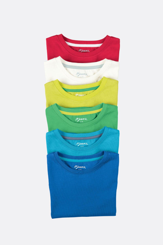 Basicshirt 1/4-Arm, gerade Form