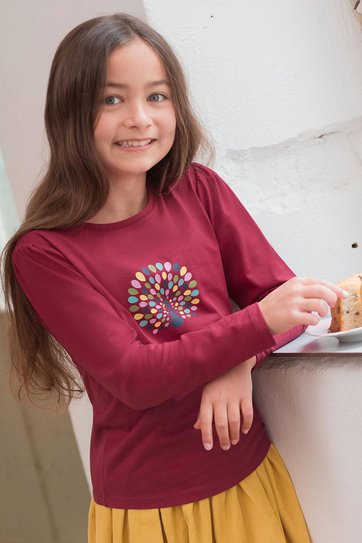 Shirt mit kleinem Puffärmel