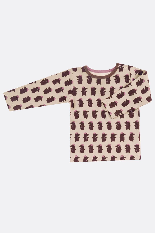 T-Shirt Blüten/Tiere