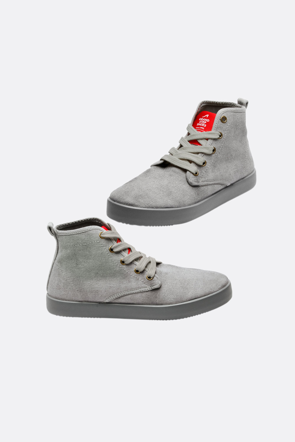 Herren High-Top Hanf Sneaker