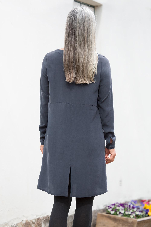 Seiden Blusenkleid
