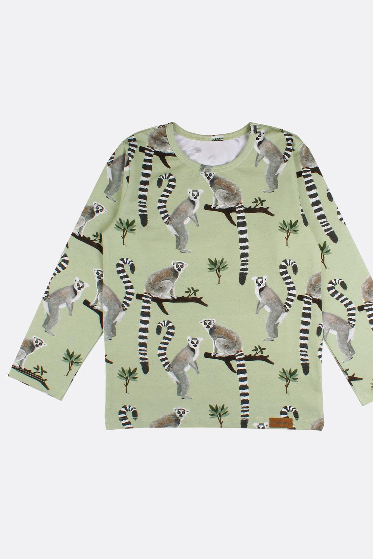 Langarm-Shirt exotische Tiere