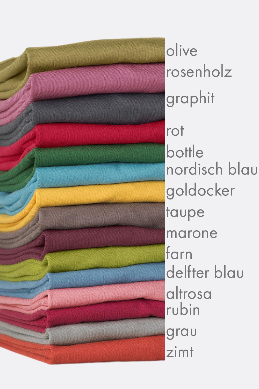 Langarm Basicshirt