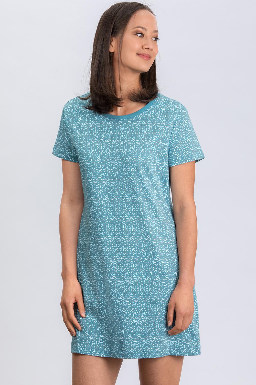 Kurzarm-Nachthemd