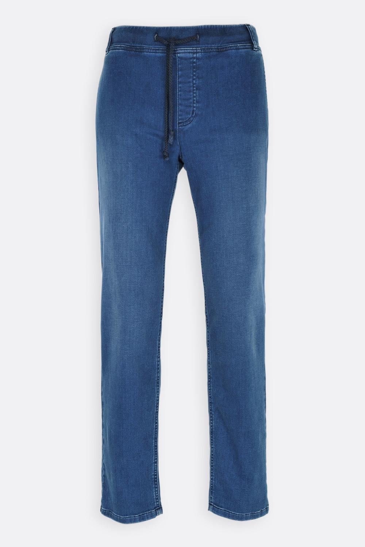 Herren Denimjersey-Pants