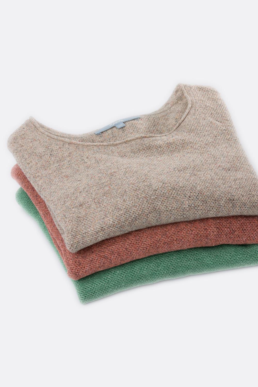 Leinen Pullover