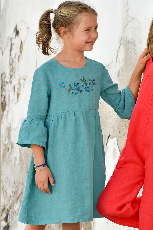 Leinen-Kleid