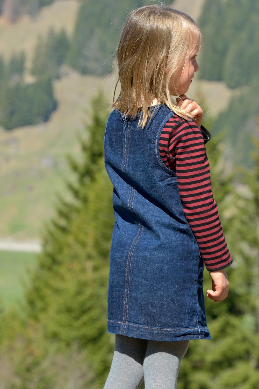 Jeans Trägerkleid