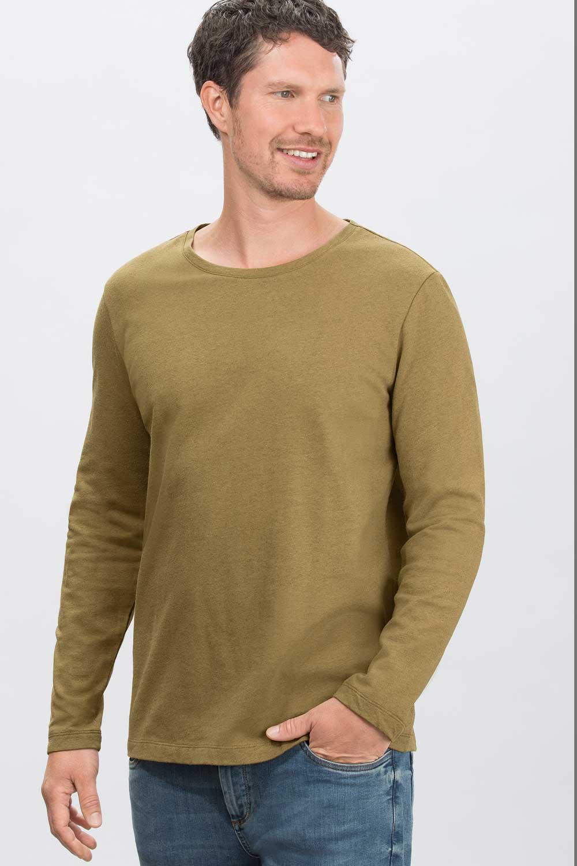 Baumwoll-Hanf-Woll Sweater