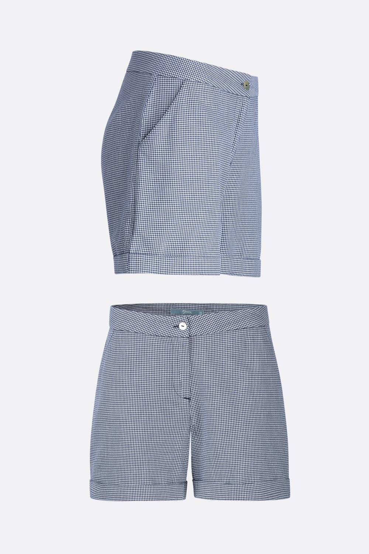 Hahnentritt Shorts