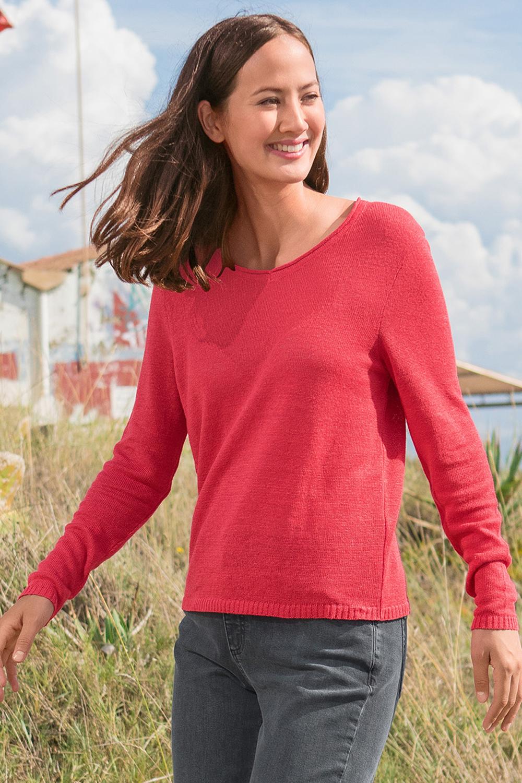 Leinen/Seide Pullover