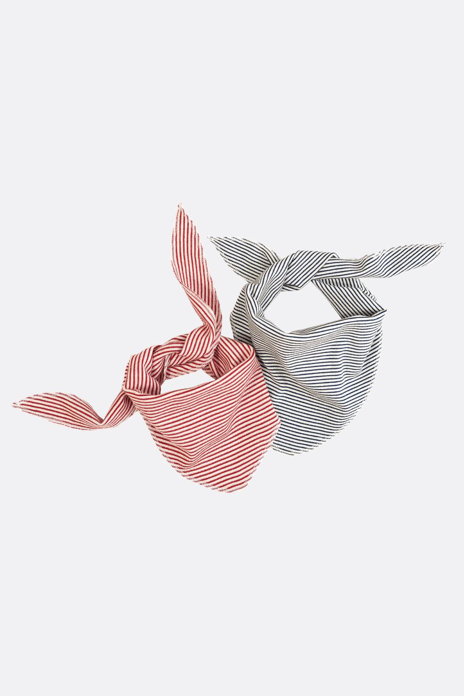 Ringel Dreiecktuch Wolle / Seide