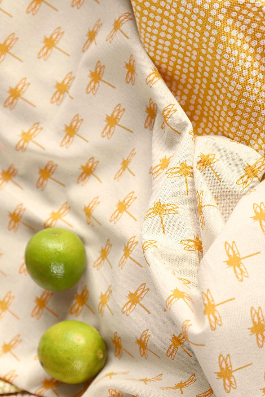 Küchentuch Libelle & Punkte, 2er Set
