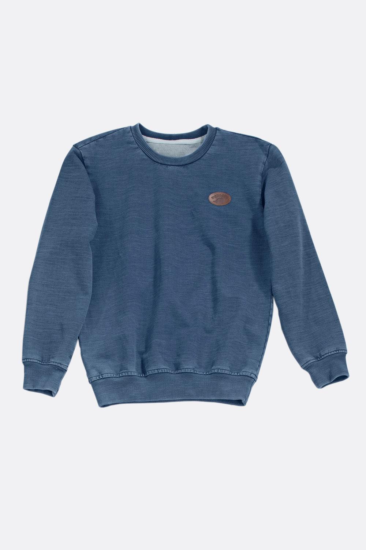 Denim-Sweat Sweatshirt