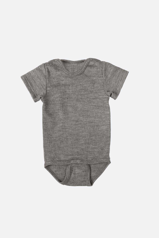 Body Wolle/Seide, Kurzarm