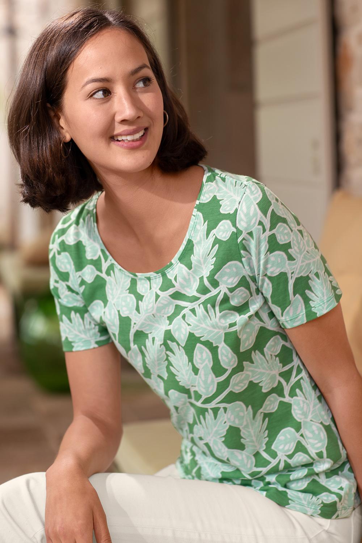 Shirt Blätterranken