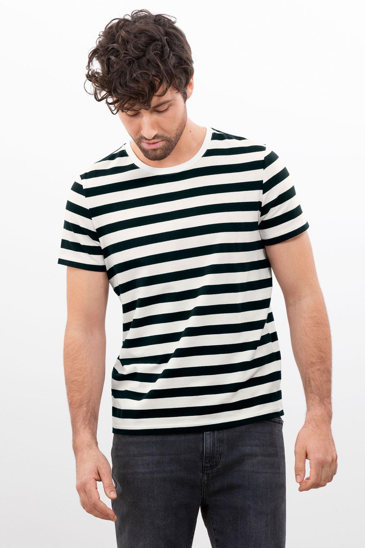 Herren T-Shirt Ringel