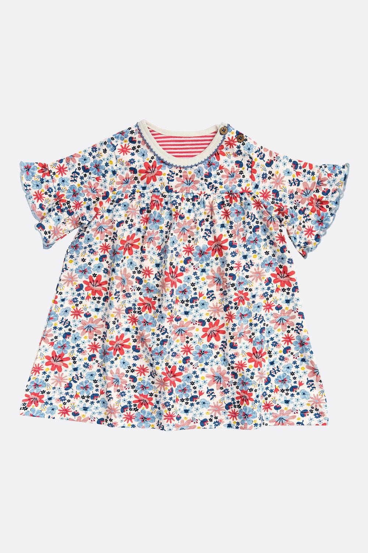 Jerseykleid Blüten
