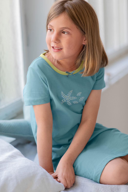 Nachthemd, Kurzarm
