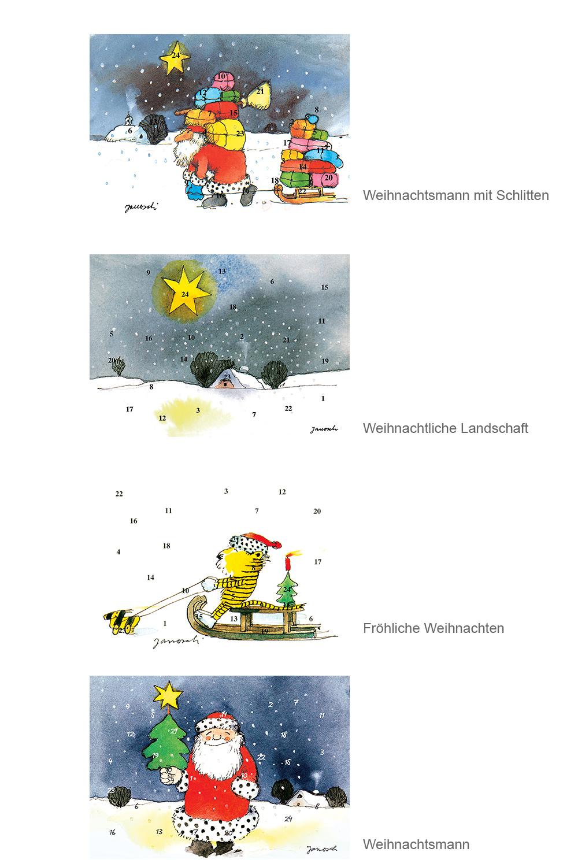 Janoschs Mini Adventskalender