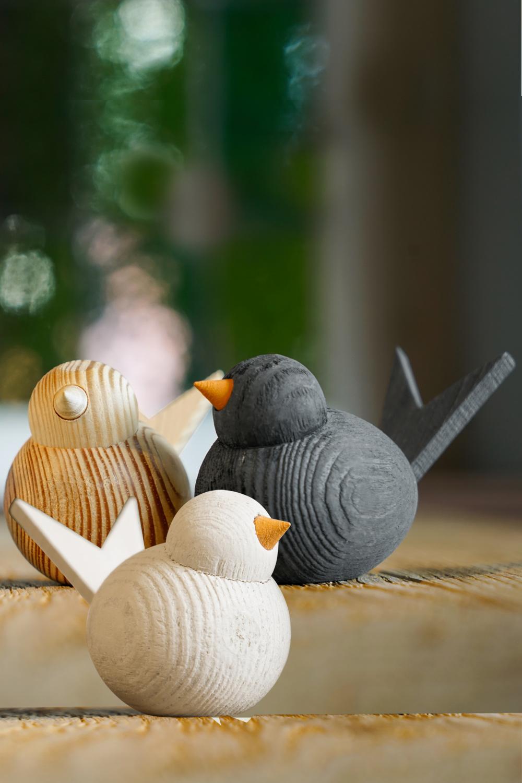 Holzvogel, skandinavisch