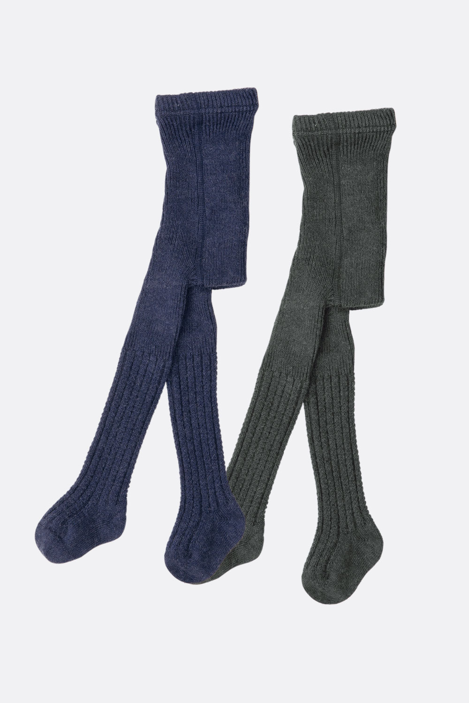 Wolle/Baumwolle-Strumpfhose